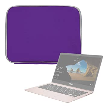 DURAGADGET Funda De Neopreno Morada para Portátil ASUS Laptop X507 / ASUS ROG Strix SKT T1