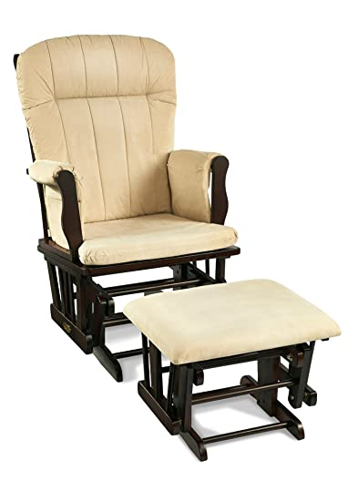 Superb Graco Avaalon Glider Rocker With Ottoman, Espresso (Discontinued By  Manufacturer) (Discontinued By