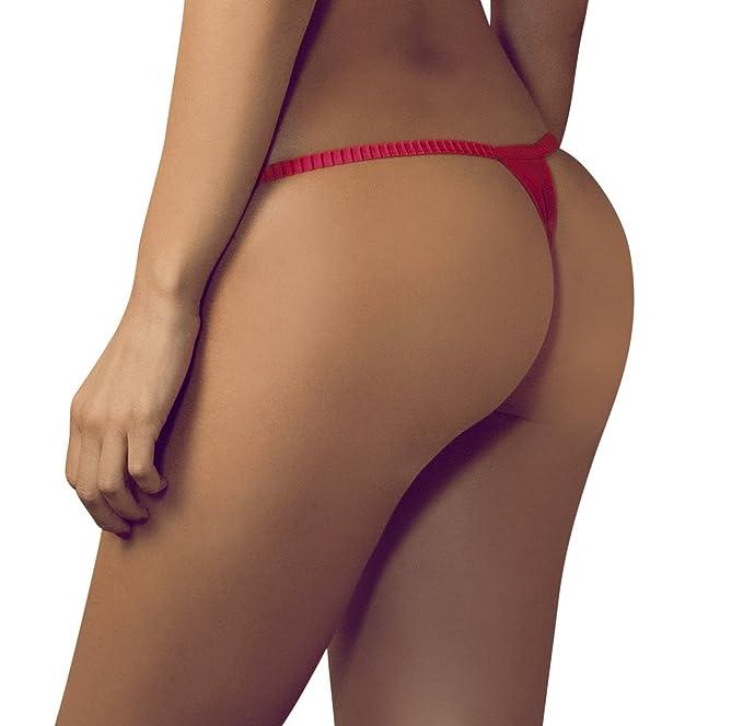 Besame - Tangas - para mujer rojo rosso 42:14/42 (Large, EU: 42/44,) : Amazon.es: Ropa y accesorios