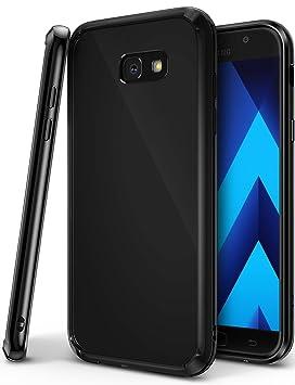 Ringke Fusion Compatible con Funda Galaxy A3 2017 Absorcion de Choque Cojín Carcasa para Galaxy A3 2017 - Negro Sombra Shadow Black