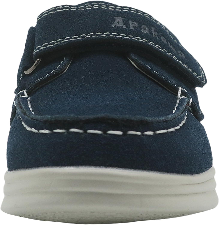 Toddler//Little Kid//Big Kid Apakowa Kids Boys Loafers Casual Slip On Boat Shoes