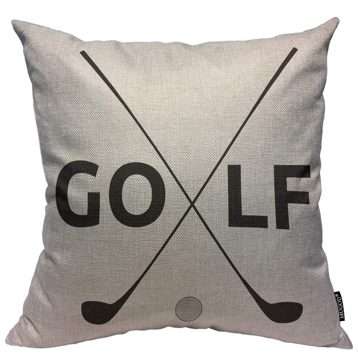 Amazon Com Mugod Golf Pattern Decoration Throw Pillow Cushion