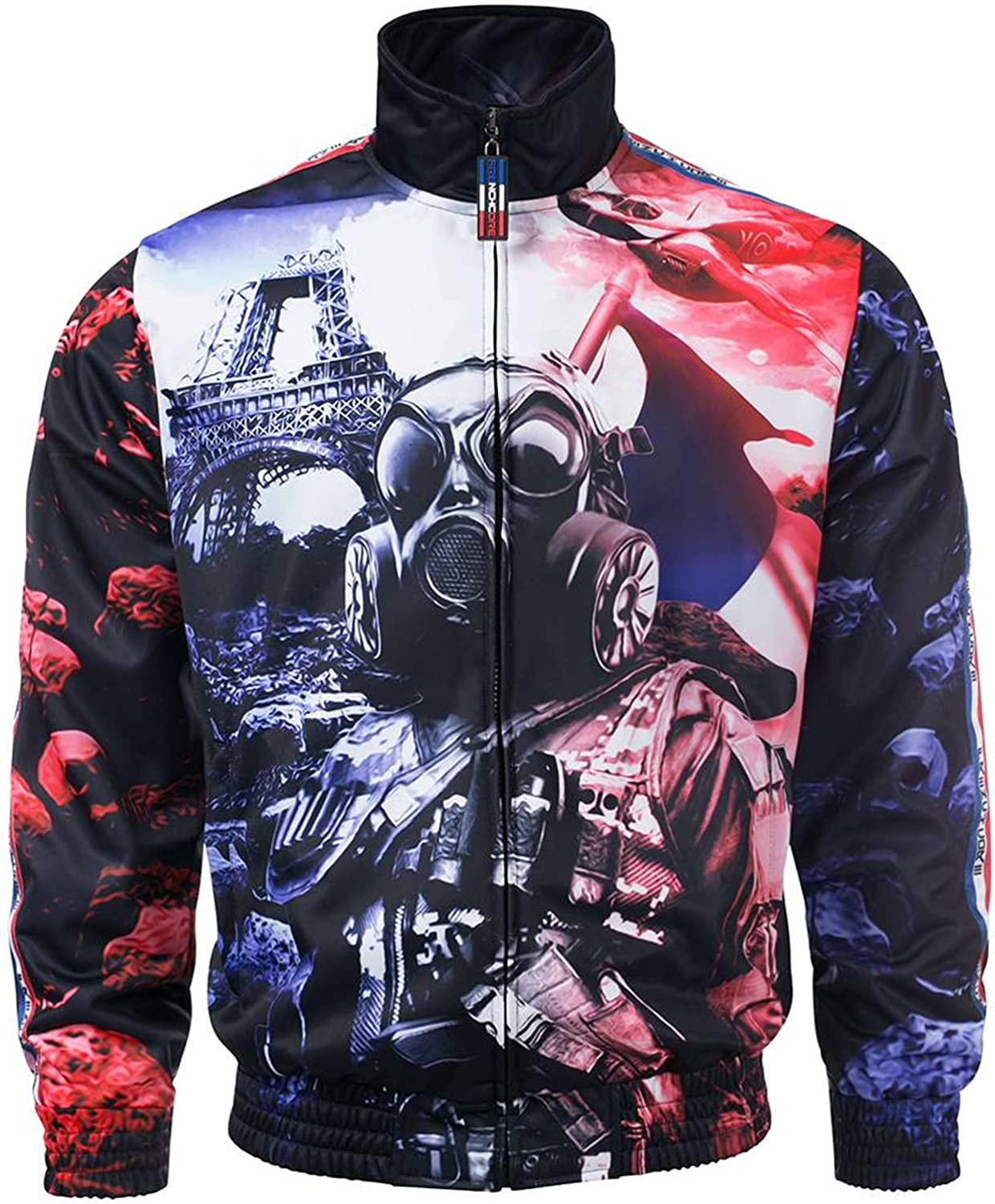100% HARDCORE Trainingsjacke Frenchcore Jacke Paris (XS