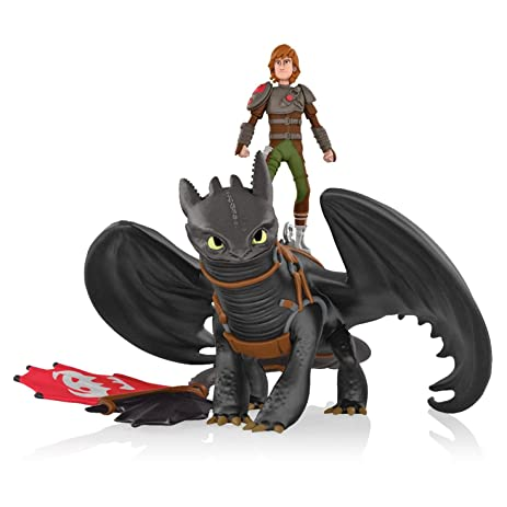 Amazon hiccup and toothless how to train your dragon 2 hiccup and toothless how to train your dragon 2 2014 hallmark keepsake ornament ccuart Images