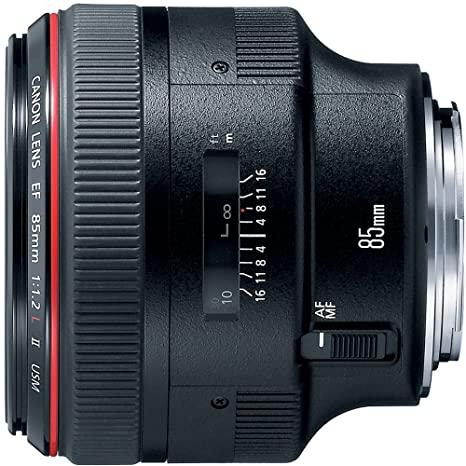 Canon EF 85mm f1.2L II USM Lens for Canon DSLR Cameras Camera Lenses at amazon