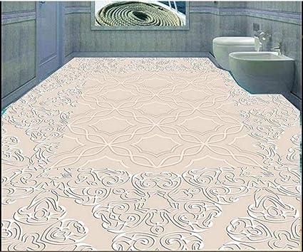Photo personnalisé Papier peint 3D Revêtement de sol ...