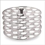 Marvel Stainless Steel Mini Idli Stand 5 Plates 90 Idlis