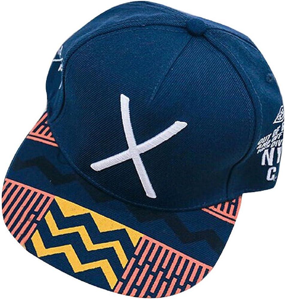 Tongshi Nueva Hip-Pop Letra X plana gorra de béisbol del hip-hop ...