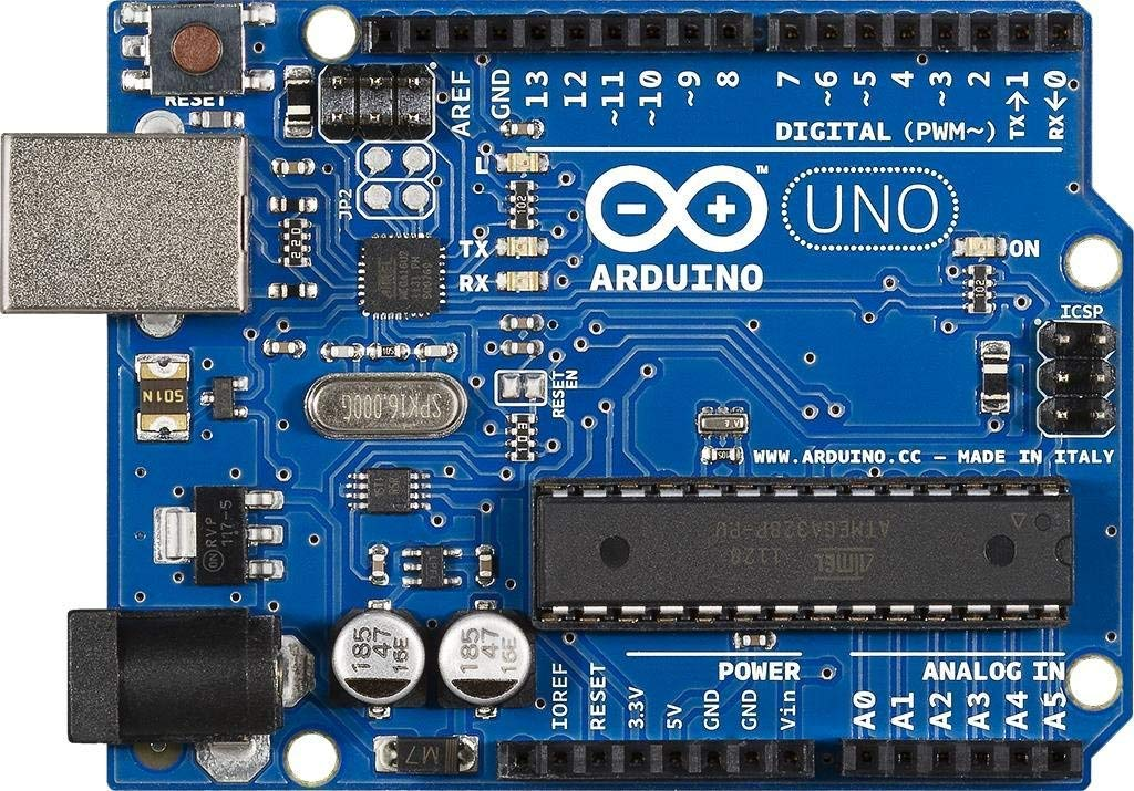 Arduino Uno R3 Development Board, Kit Microcontroller Based on ATmega328 and ATMEGA16U2 with USB Cable for Arduino, Original by Devbattles (Image #1)