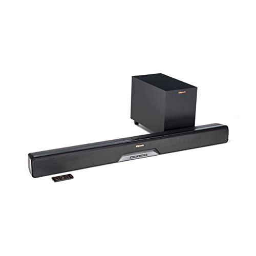 Klipsch Reference RSB-8 Sound Bar With Wireless Subwoofer