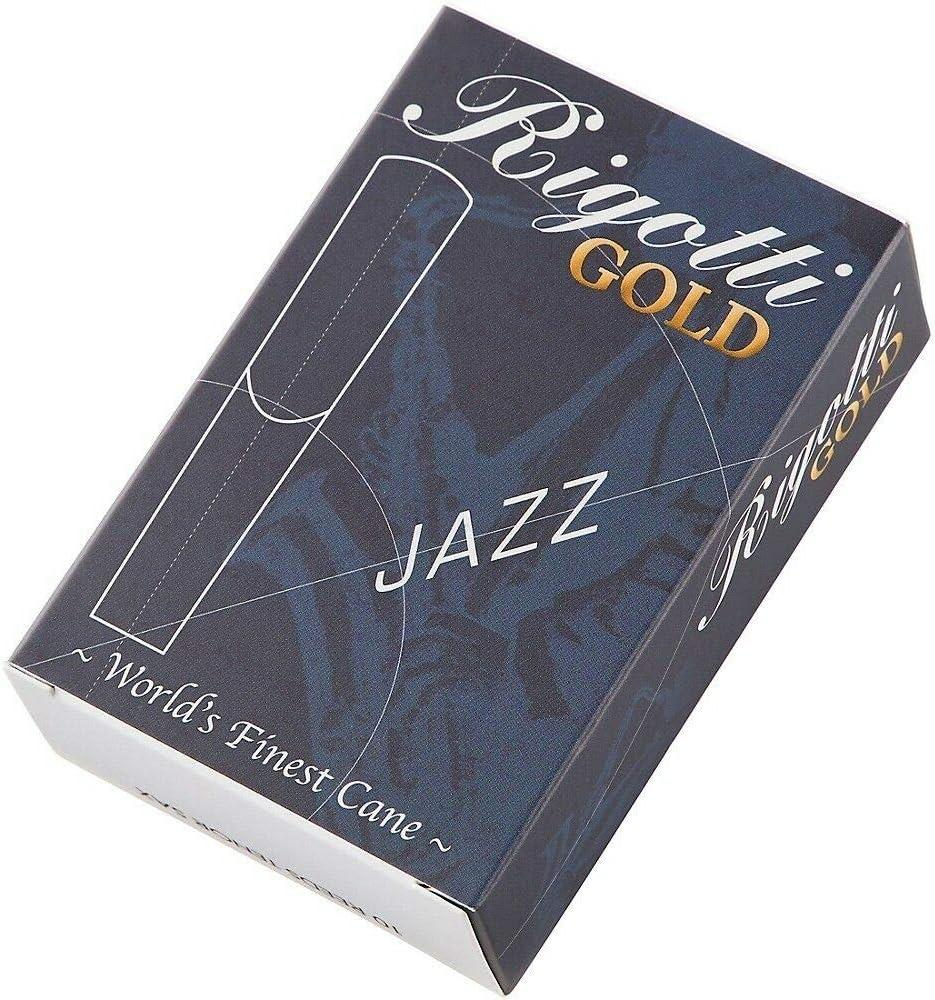 Rigotti Gold Tenor Saxophone Reeds Strength 3.5 Medium