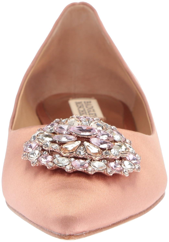 Badgley Mischka Women's Davis Pointed Toe Flat B072R58RGX 10 B(M) US Dark Pink