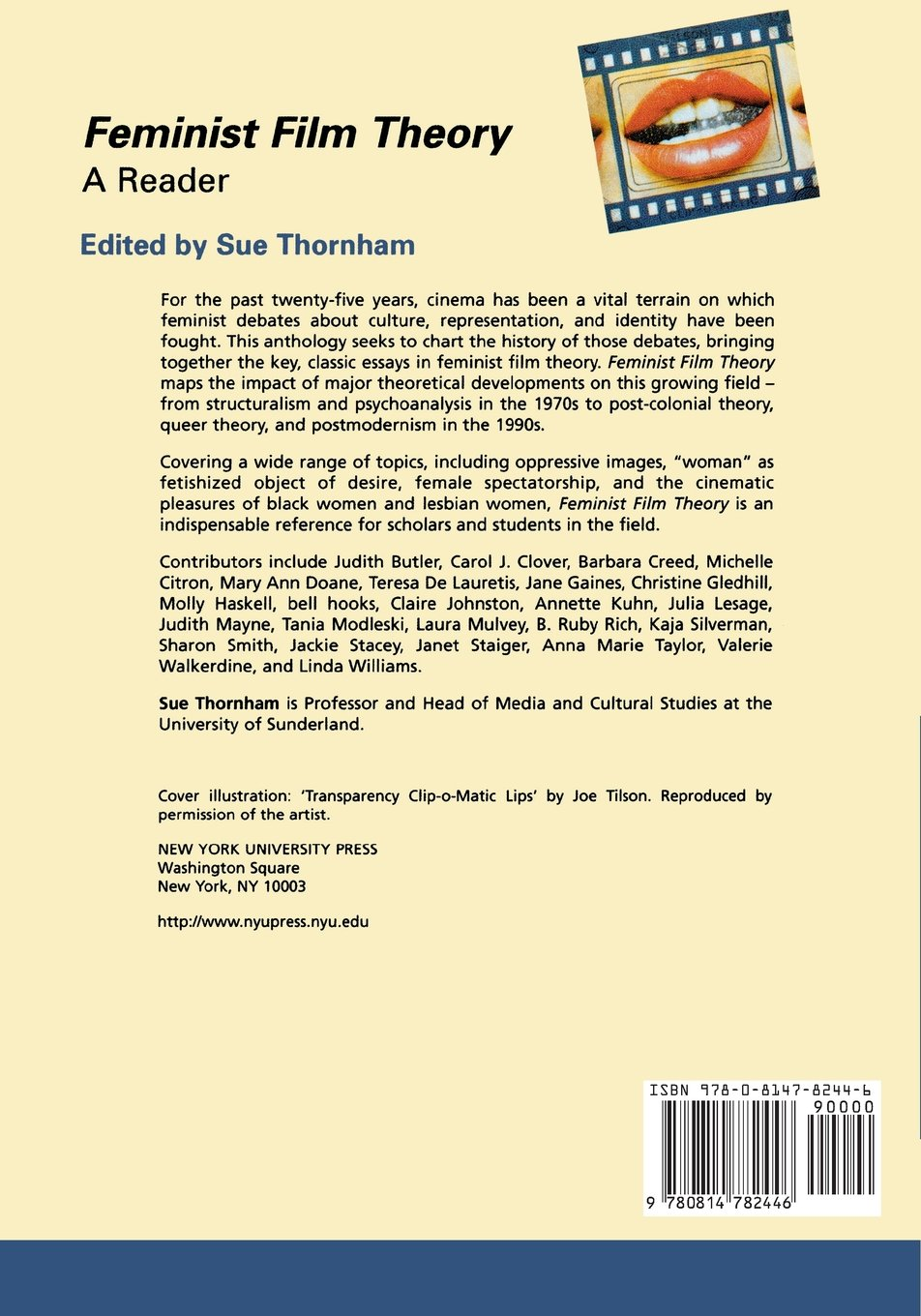 feminist film theory a reader sue thornham  feminist film theory a reader sue thornham 9780814782446 com books