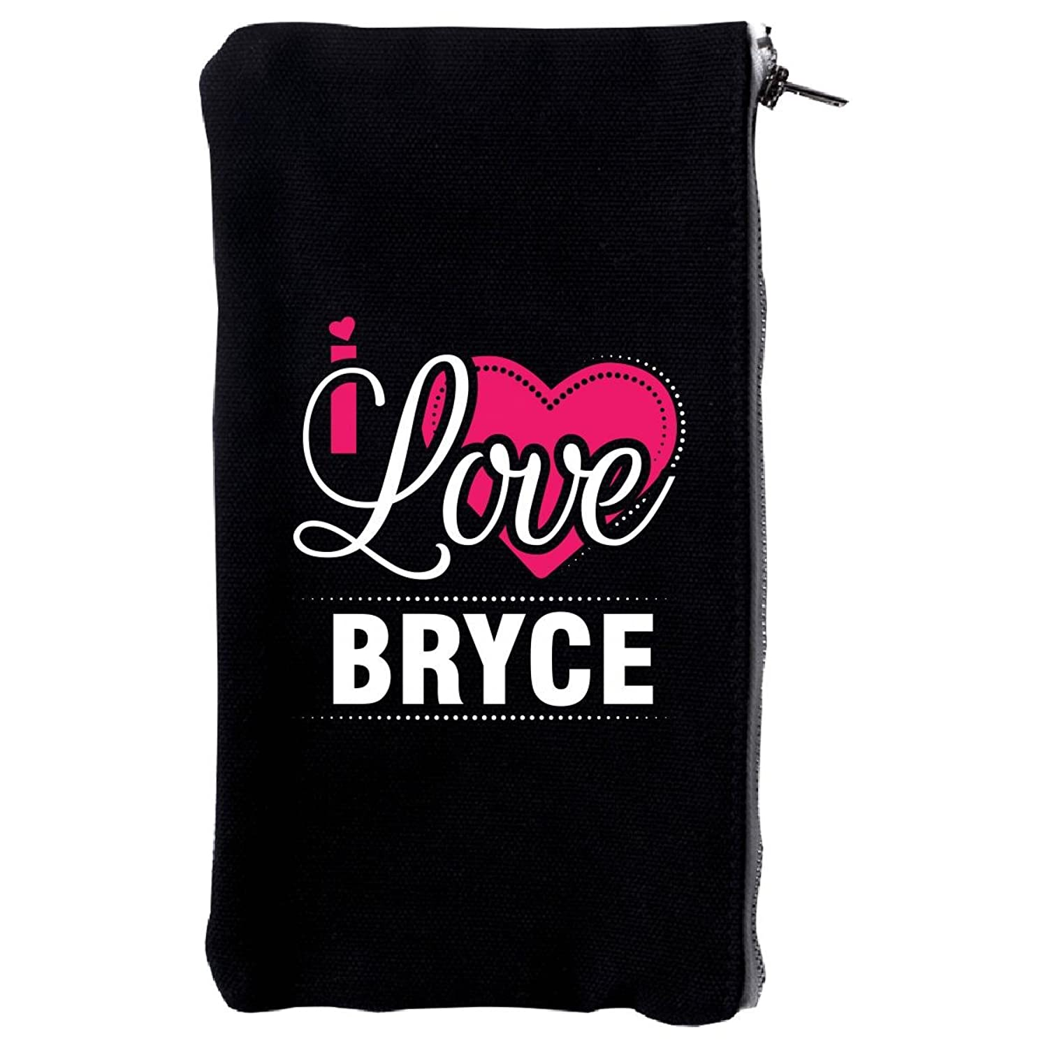 I Love Bryce - Cool Gift For Bryce From Girlfriend - Make Up Case