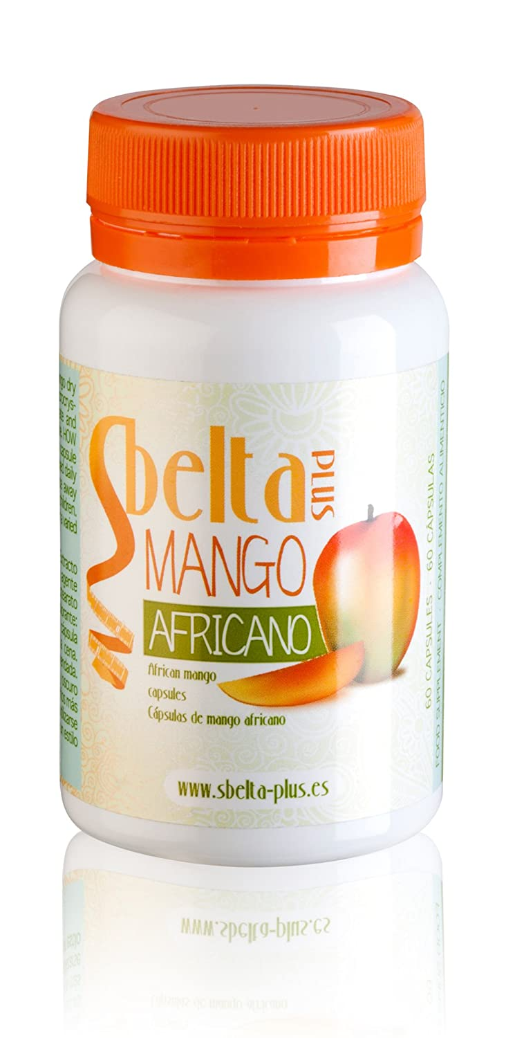 Amazon.com: Sbelta Plus African Mango Food Supplement (60 capsules): Health & Personal Care
