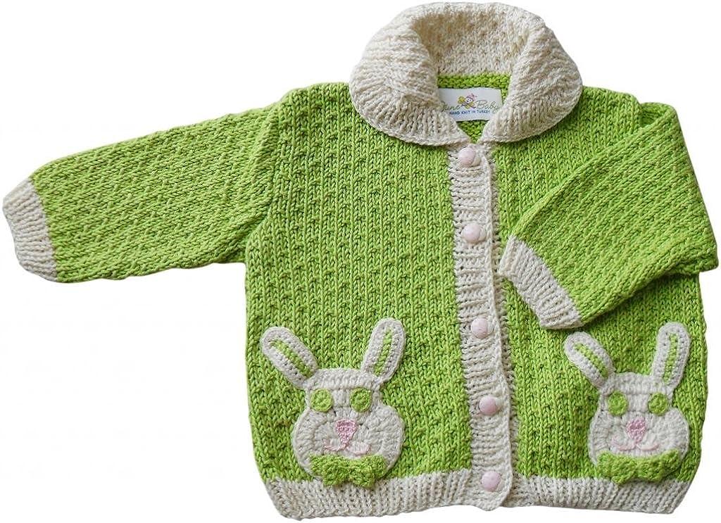 JuneBee Baby Inc My Energized Bunny Cotton Bamboo Baby Cardigan