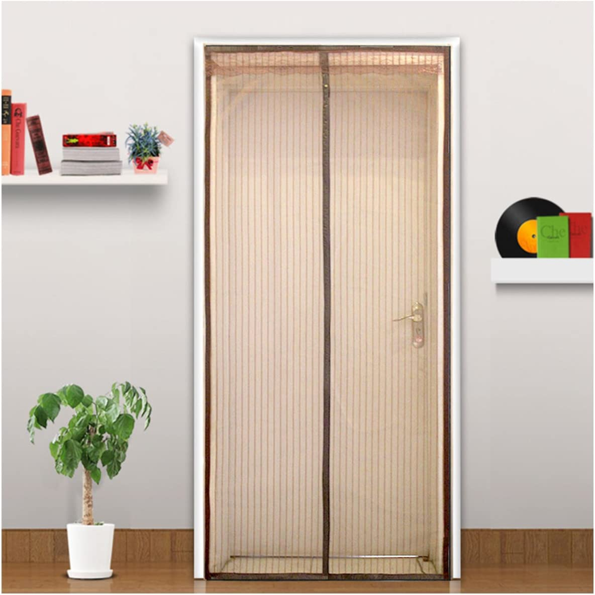 Mosquitera cortina magnético para puertas mosca cortina Mosquitera cortina puerta para balcón para salón puerta corredera Terrazas para puerta: Amazon.es: Bricolaje y herramientas