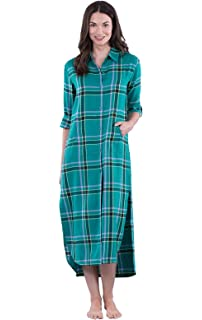 2e5e1284aa Amoy madrola Women s 100% Cotton Woven Flannel Nightgowns Full Length Long  · 4.0 out of 5 stars 32 ·  37.90 · PajamaGram Women s Flannel Nightgown  Plaid ...