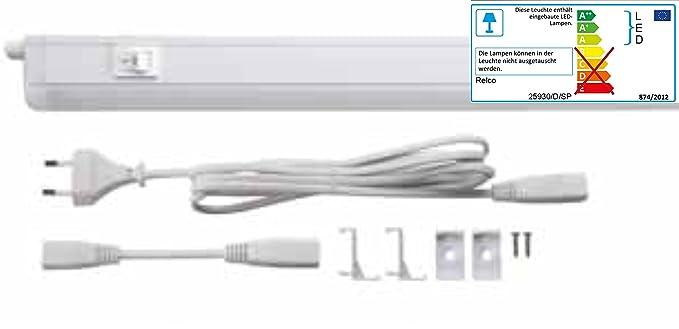 Wunderbar LED Lichtleiste Küche Schrank Leuchte 7 Watt Warmweiß 830 Unterbau /  Einbauleuchte: Amazon.de: Beleuchtung