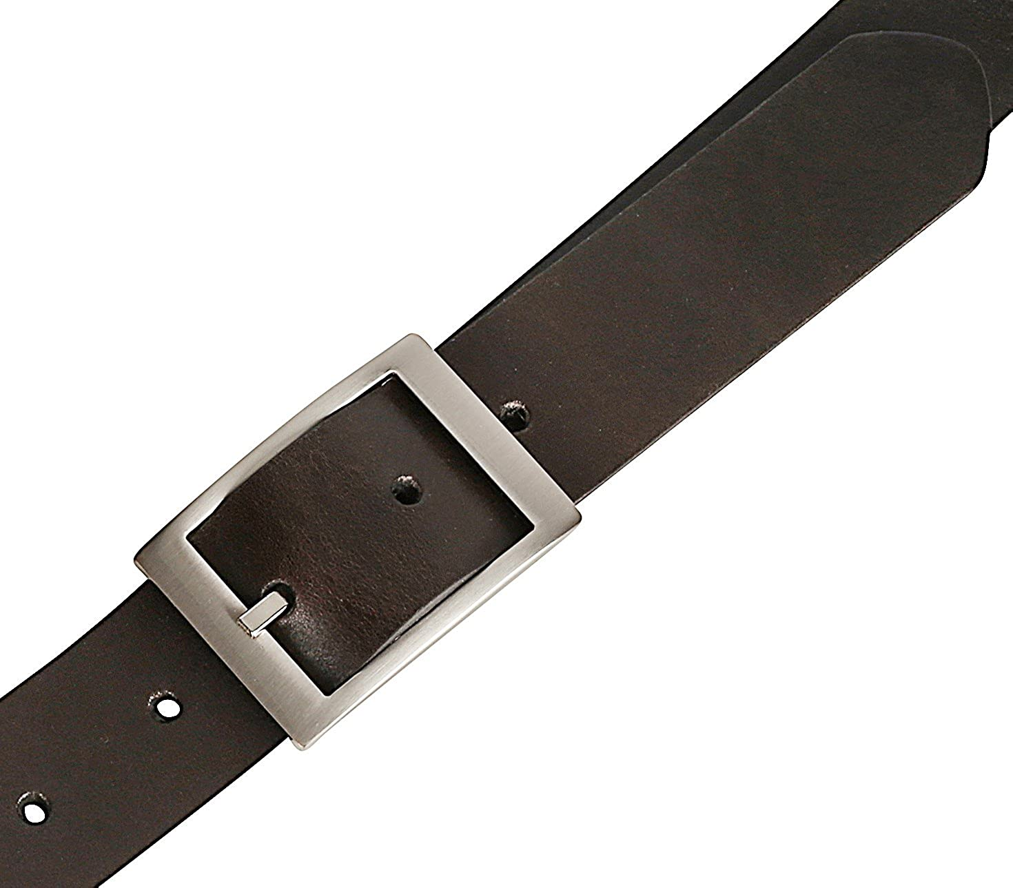 Mens Casual Full Grain Classic Leather Dress Belt For Jeans,1.25 Wide USA