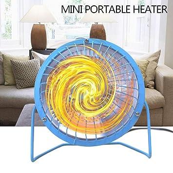 STRIR Calefactor eléctrico para Interior - Emisores térmicos - Mini Estufa Eléctrica Calefactor Portátil (Azul, 4 Pulgadas): Amazon.es: Hogar