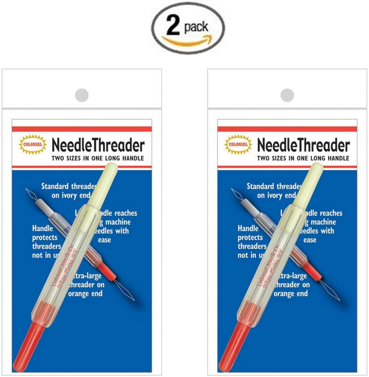 CottageCutz 2-in-1 Needle Threader (2 Pack) CNT1