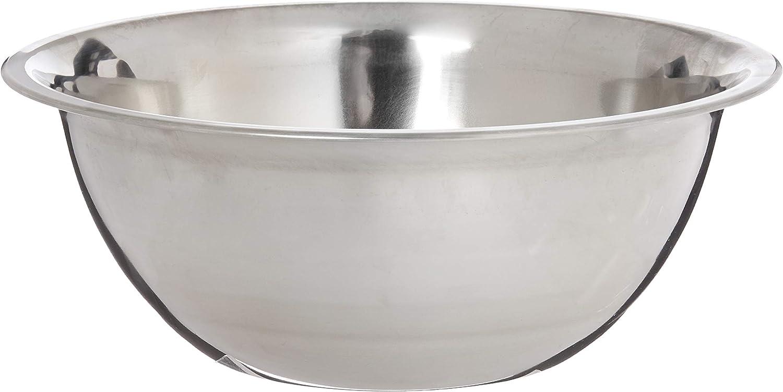 3 Quart Stainless Steel Mixing Bowl Medium Weight Restaurant Grade New 3 QT