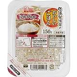 アイリスオーヤマ 低温製法米のおいしいパックごはん ゆめぴりか 国産米100% 150g×24個