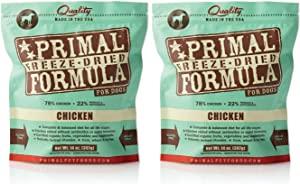 Primal Freeze-Dried Nuggets Chicken Formula for Dogs 28oz (2 x 14oz)