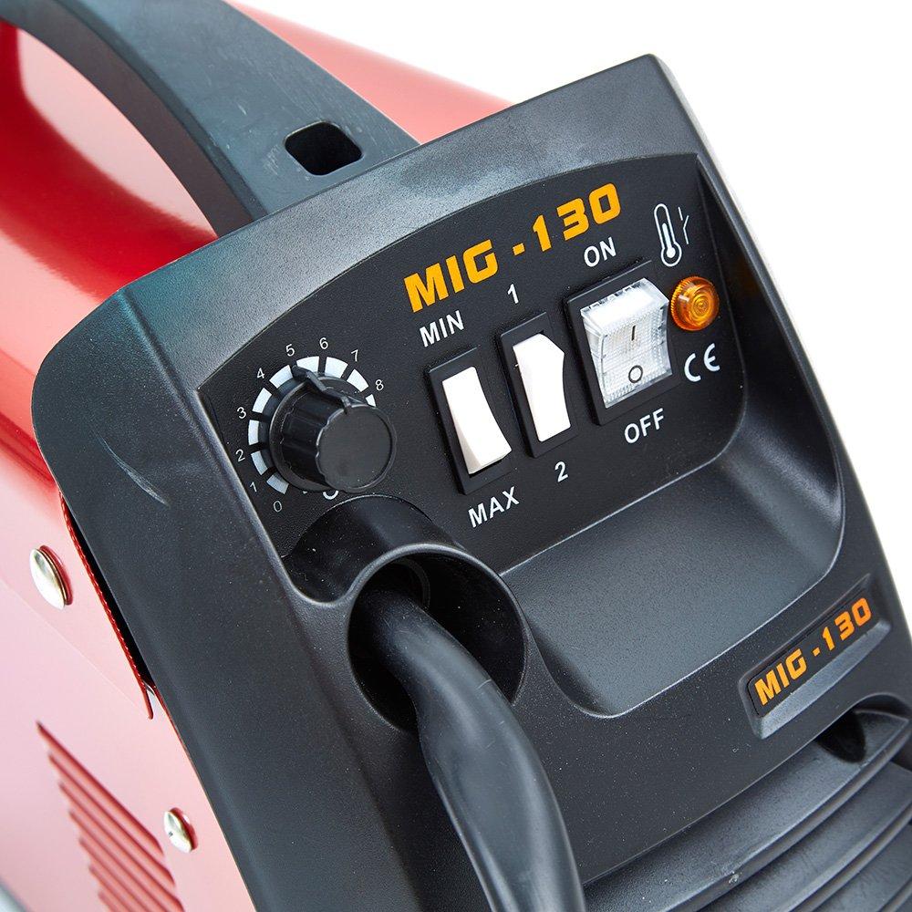 Trueshopping Industrial Soldador Mig 130 AMP y Accesorios: Amazon.es: Bricolaje y herramientas