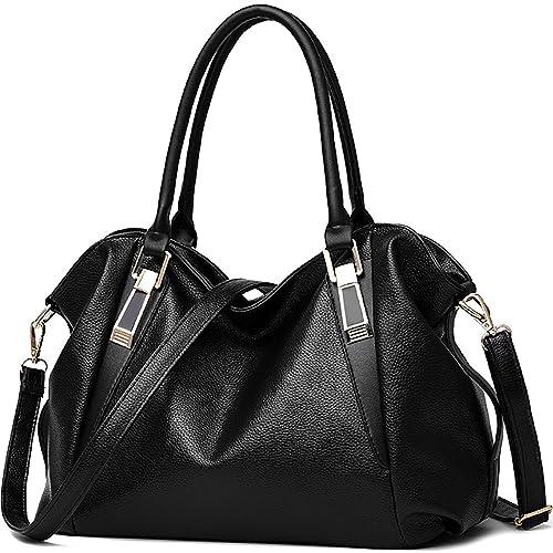 Amazon.com: Ladies Fashion bolsas de hombro Mujeres PU de ...