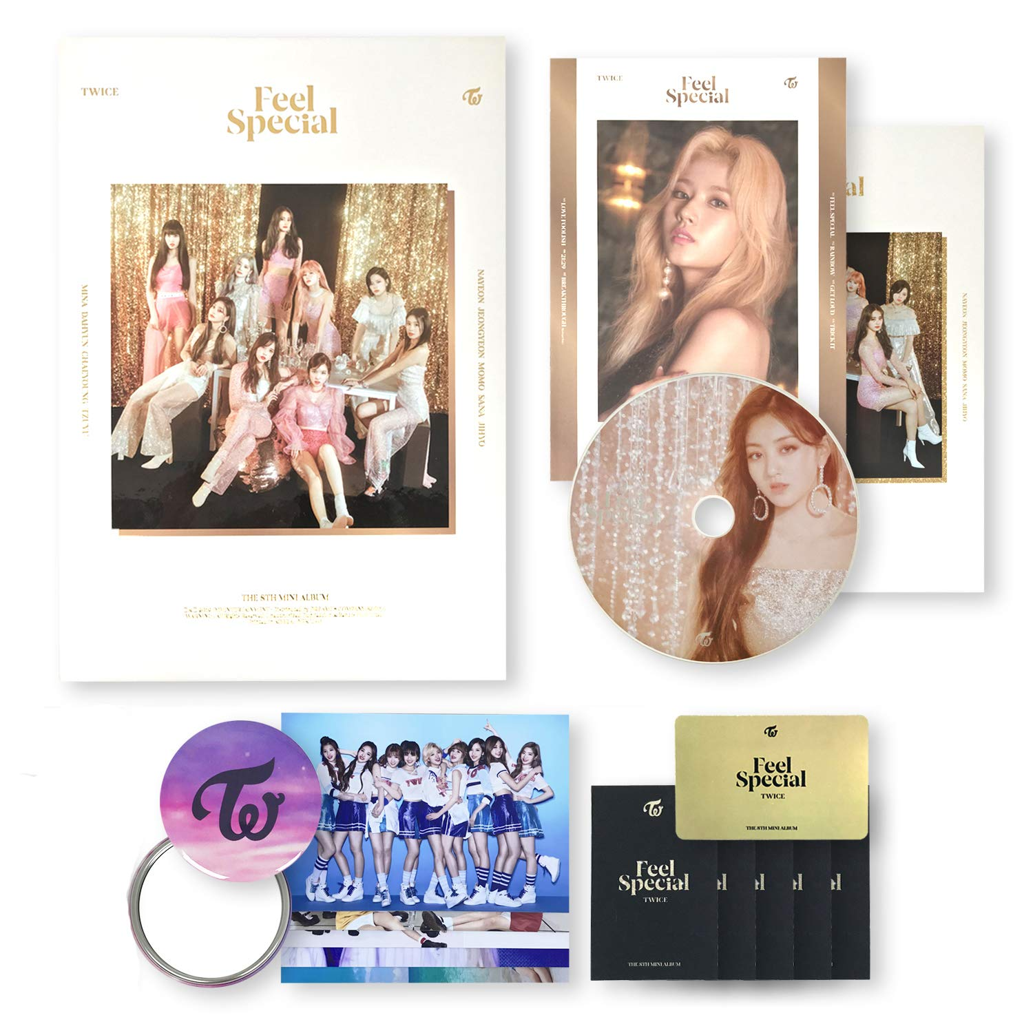 Denver Mall TWICE 8th Mini Album - FEEL Photobook A CD SPECIAL + ver. Outlet ☆ Free Shipping