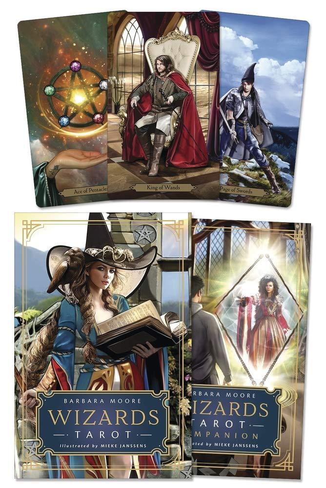 Wizards Tarot: Moore, Barbara, Janssens, Mieke: 9780738760285: Amazon.com:  Books