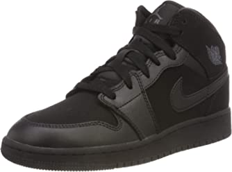 Jordan Boys Air 1 Mid Basketball Shoe