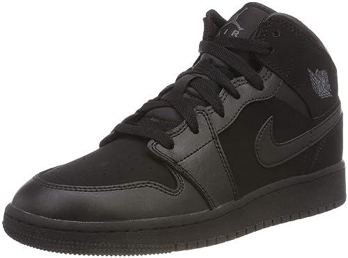 half off f0a3b 487aa Nike Air Jordan 1 Mid (GS), Zapatillas Altas Unisex para Niños  Amazon.es   Zapatos y complementos