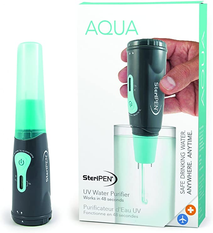 SteriPen Aqua UV Water Purifier 2018 Esterilizador de Agua: Amazon ...