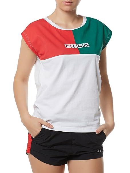 Fila Abigail W Camiseta Bright White