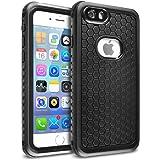 iPhone 6/6s 防水ケース Arbalest 多機能スマホケース 耐衝撃カバー IP68 防塵 防雪 指紋認証 ストラップ付き アイフォン6 ケース ブラック