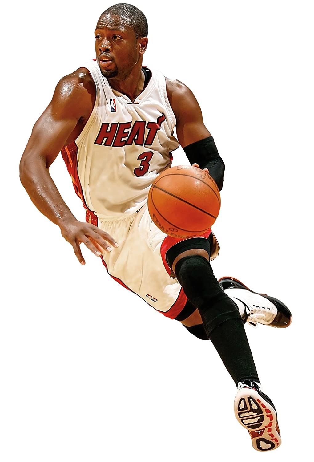 Amazon Fathead NBA Miami Heat Dwyane Wade Wall Graphic