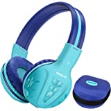 SIMOLIO Wireless kids Headphones with Volume Limited, Kids Headphones Bluetooth for Hearing Protection, Kids Headsets…