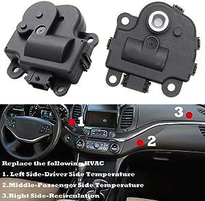 Air Door Actuator HVAC 604108 for Chevy Impala 2004-2013 Blend Door Actuator