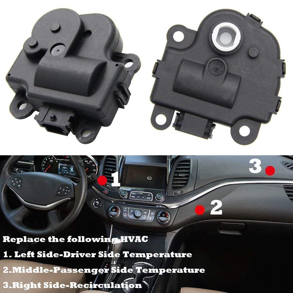 Air Door Actuator Hvac 604108 For Chevy Impala 2004 2013 2007 Cluster Wiring Harness Blend Replace 1573517 1574122 15844096 22754988 52409974 Automotive