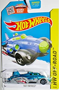 Mattel Hot Wheels Fast Fortress Shark Mouth Blue Version