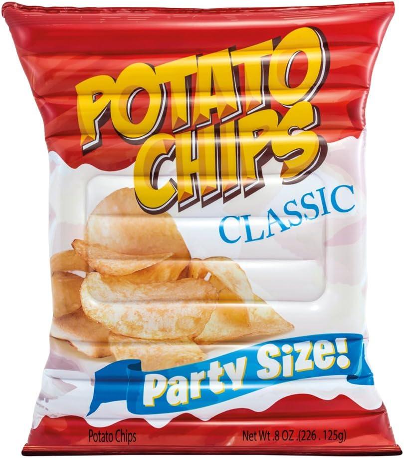 Intex 58776EU - Colchoneta hinchable Bolsa de patatas chips 140 x 178 cm