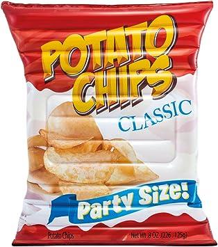 Comprar Intex 58776EU - Colchoneta hinchable Bolsa de patatas chips 140 x 178 cm