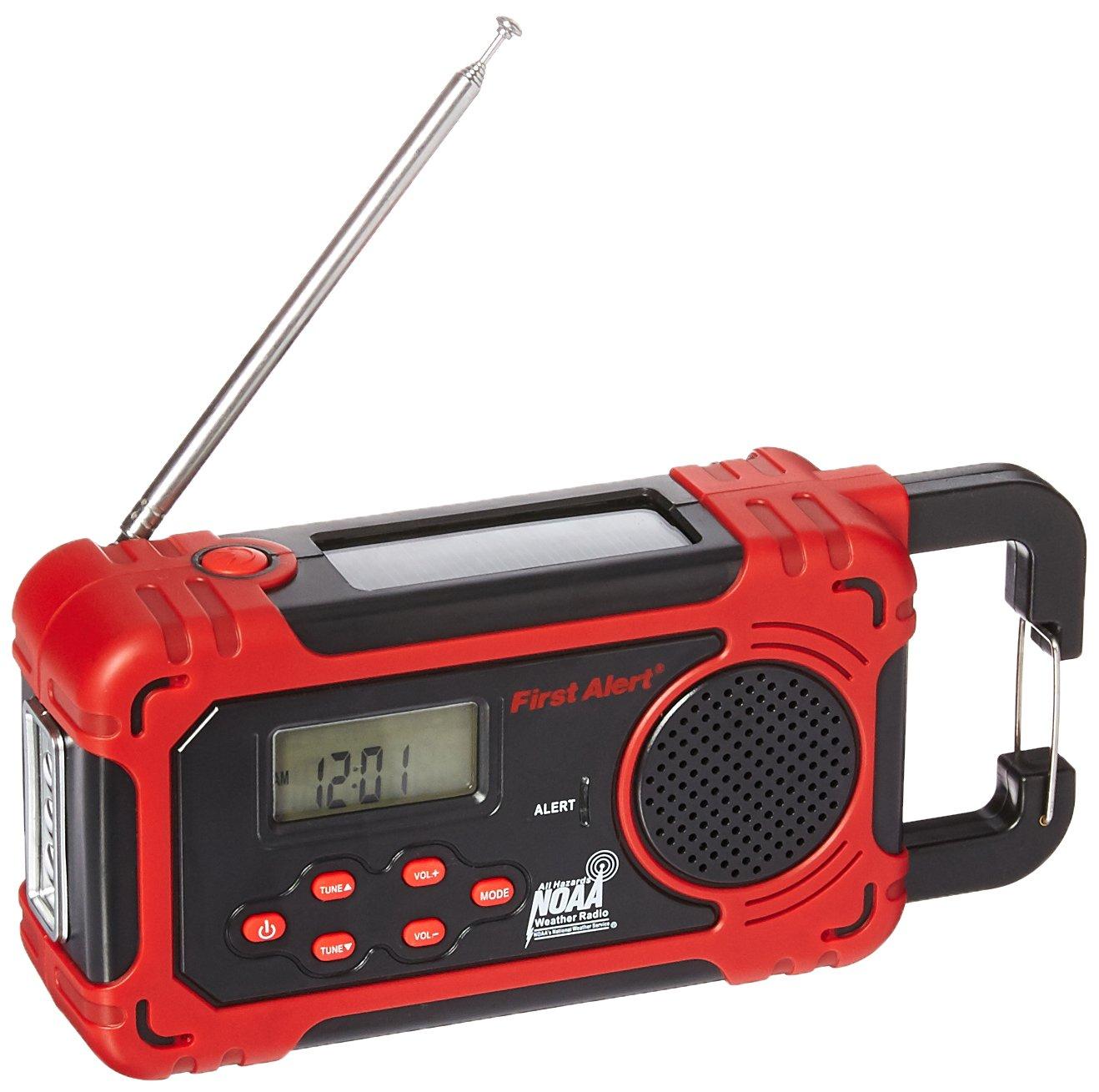 First Alert Weather Radio,Red/Black (SFA1160)