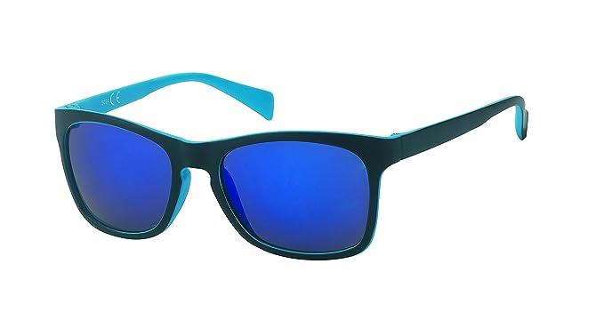 Espejo gafas de sol retro vintage web 400 UV Nerd Wayfarer ...