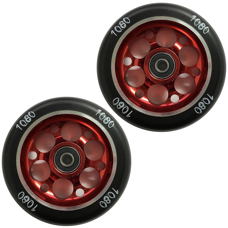 Ten Eighty - Ruedas para patinete (110 mm, perforado (par ...