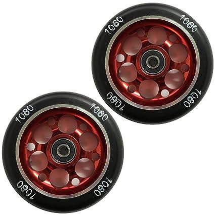 Ten Eighty - Ruedas para patinete (110 mm, orificio de la ...