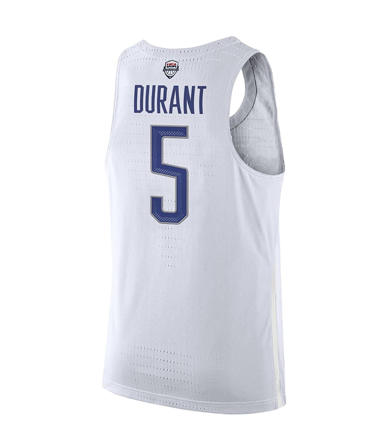 Amazon.com  Nike Men s Team USA 2016 Rio Olympic Games Size XXL Kevin  Durant  5 Authentic White Basketball Jersey  Clothing 5fb2deb7a